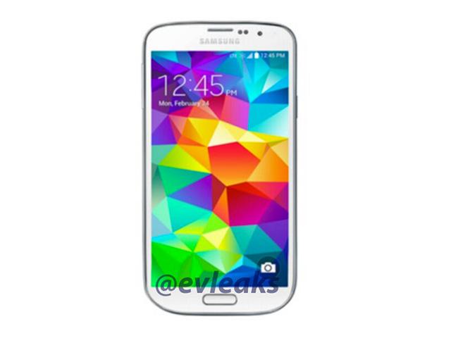 Rendu presse Samsung Galaxy S5 Mini