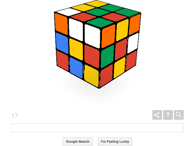 Le Rubik's Cube de Google