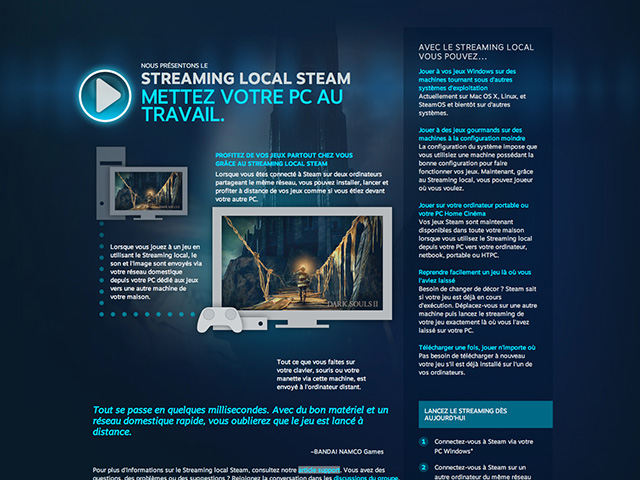 Streaming local Steam