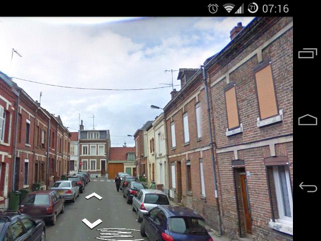 Street View dans les Services Google Play