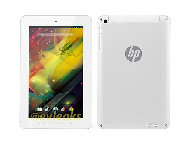 Rendu tablette HP