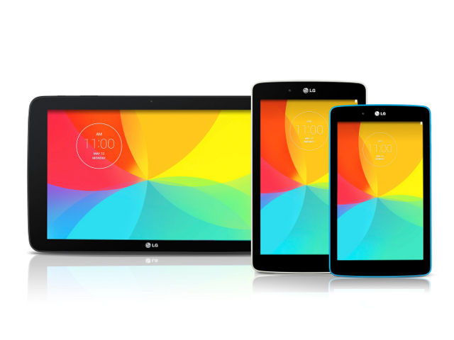 LG lève le voile sur ses prochaines tablettes G Pad