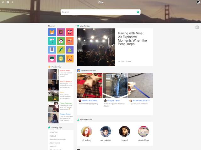 Vine ouvre sa version web au monde entier