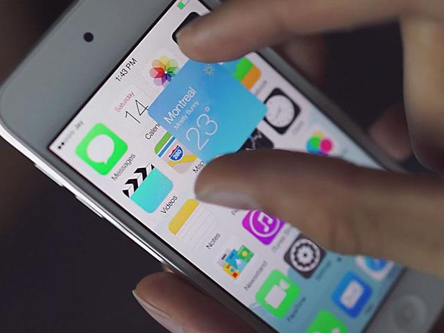 Concept widgets iOS 8