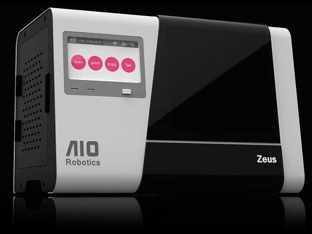 Zeus, l'imprimante 3D qui fait aussi scanner