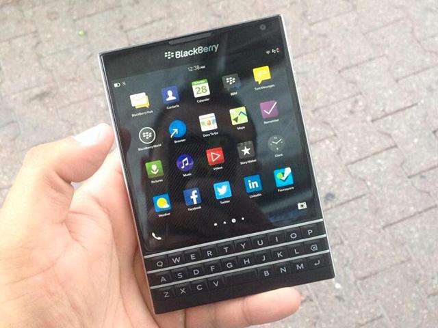 BlackBerry Passport in the Wild