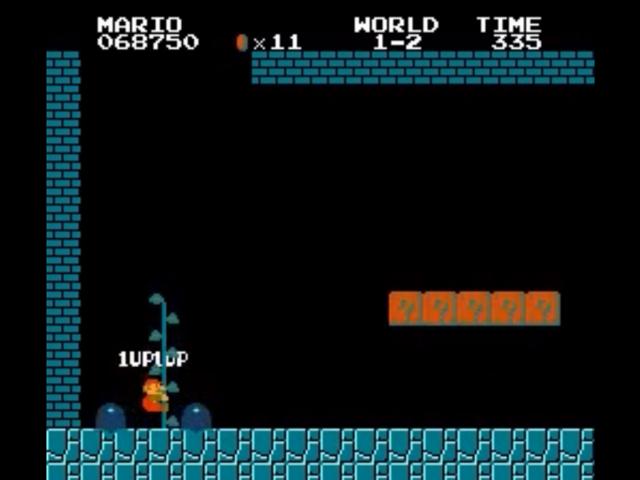 Un nouveau bug de vies infinies dans Super Mario Bros.