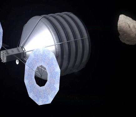 La NASA compte capturer un astéroïde en 2019