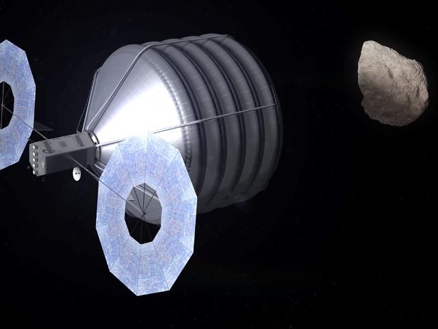 Capture d'un astéroïde
