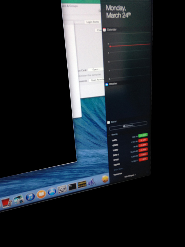 OS X 10.10 : capture 3
