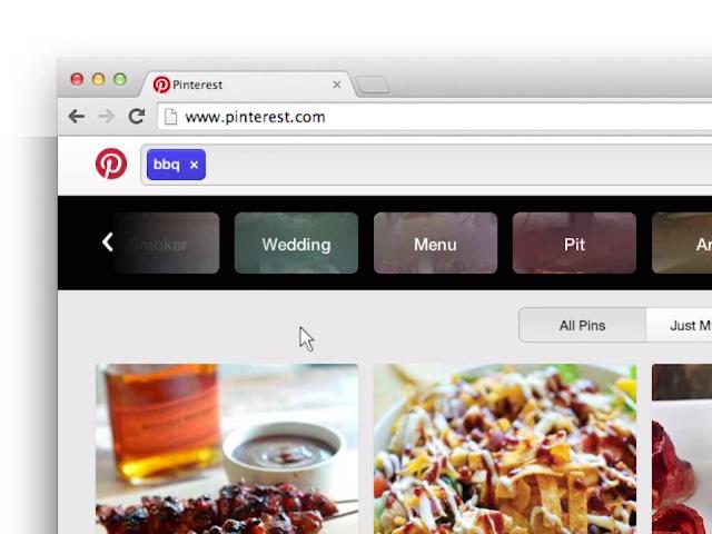 Filtres Pinterest