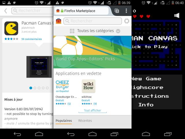 Le Firefox Marketplace débarque sur Android