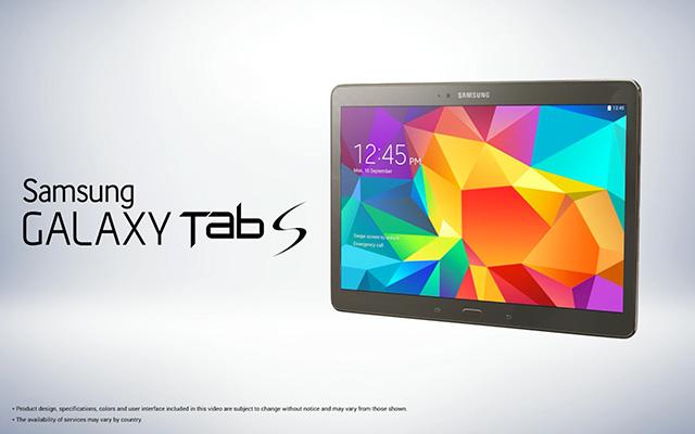 Rendu Galaxy Tab S : image 1