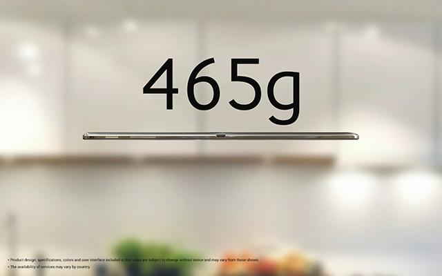 Rendu Galaxy Tab S : image 5