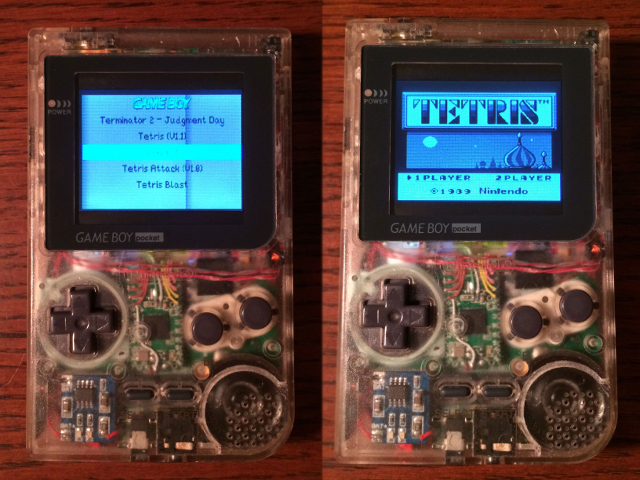 Une Game Boy Pocket avec un Raspberry Pi