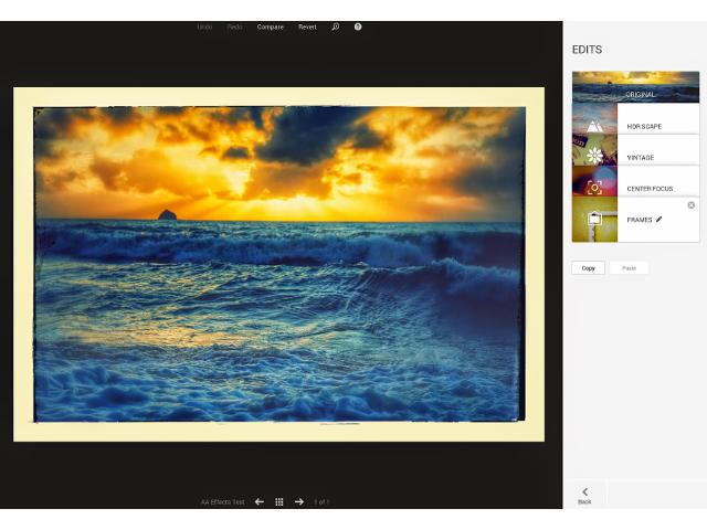 L'historique de Google+ Photos