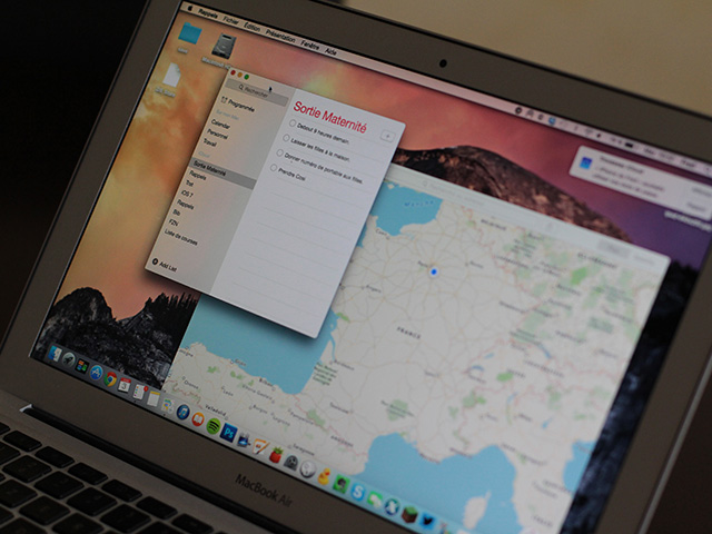 Interface OS X 10.10 : image 2
