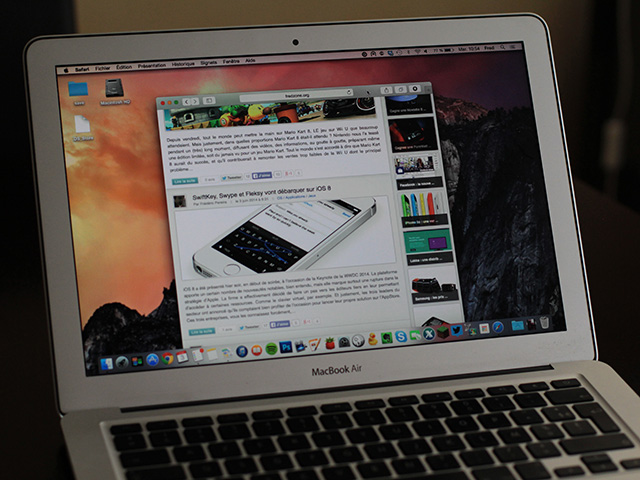 Interface OS X 10.10 : image 3