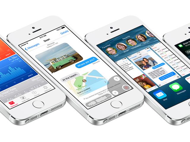 iOS 8 bêta 2