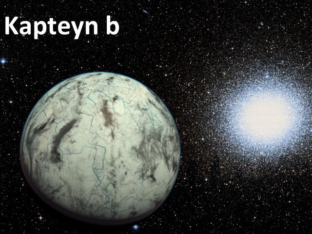 Kapteyn b, la plus vieille planète découverte qui pourrait abriter la vie