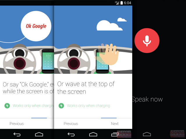 KITT, Google Now sans les mains