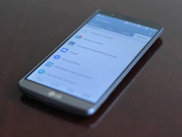 LG G3 : Optimus UI 9