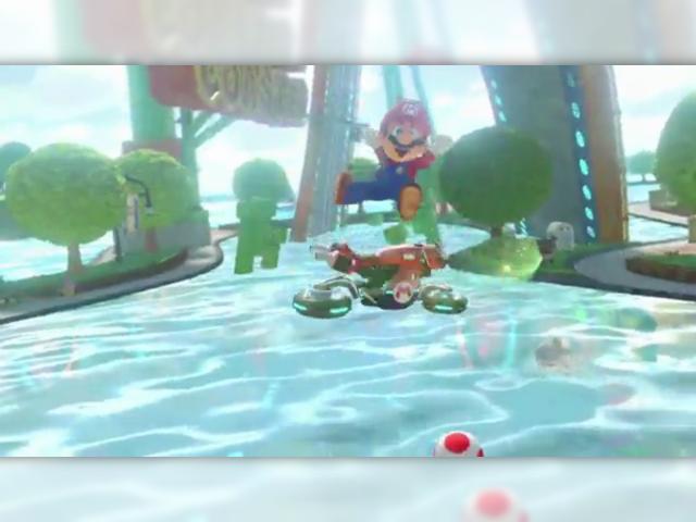 Mario est content de faire vendre des Wii U