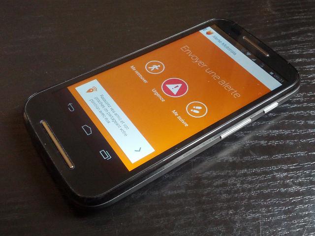 Motorola Alerte, pour ne pas mourir tout seul dans un coin