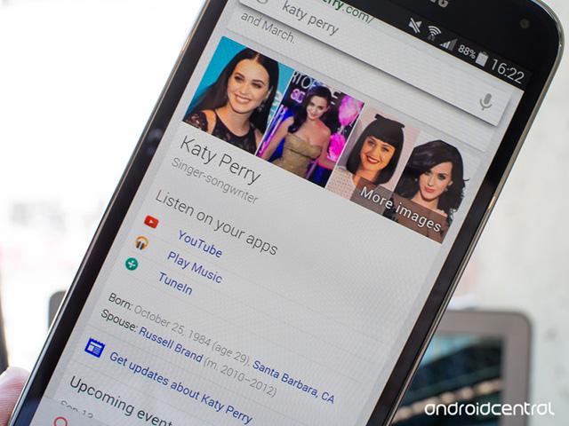 Musique Google Now