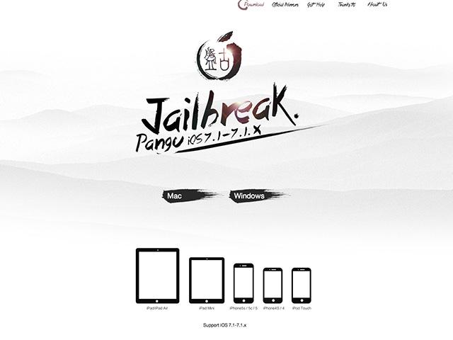Pangu 1.1 jailbreak OS X