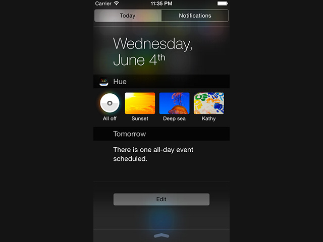 Philips Hue iOS 8