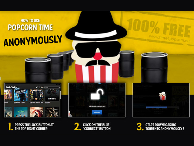 popcorn time screenshot, time4popcorn, vpn, torrent, streaming