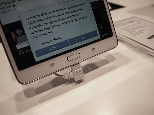 Samsung Galaxy Tab S 8.4 : photo 3