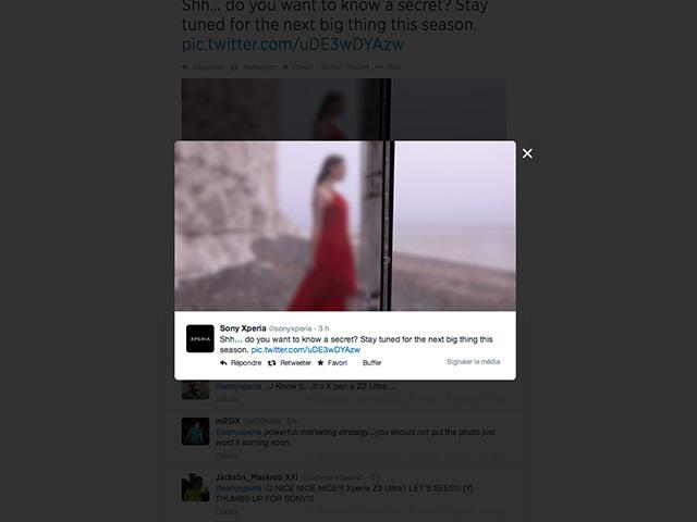 Teaser Sony Xperia ZU 2
