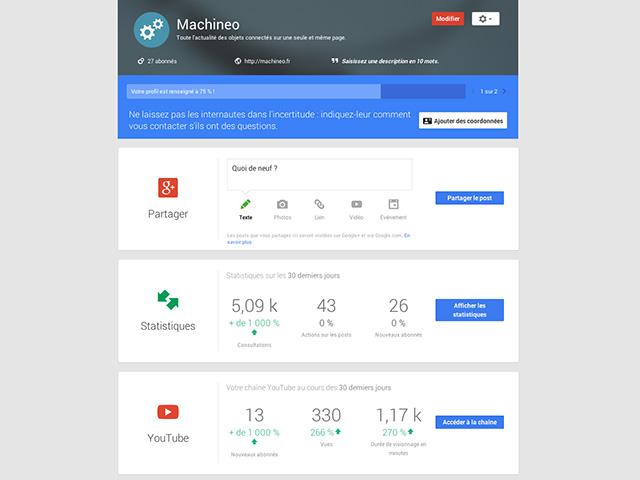 Statistiques Google+ : image 1