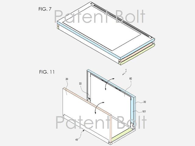 Une tablette pliable par Samsung
