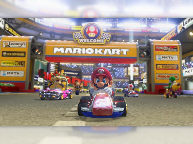 C'est parti pour Mario Kart 8 !