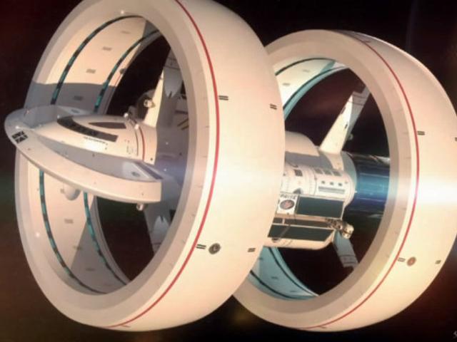 Un vaisseau capable d'aller dans l'hyperespace