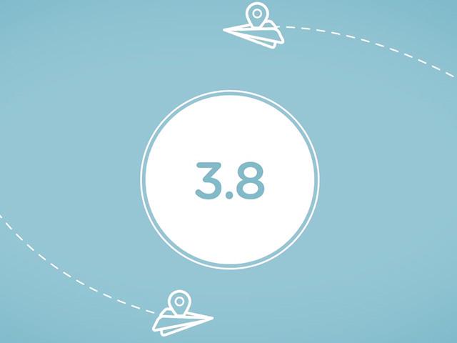 Waze 3.8