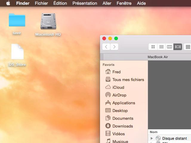 Dark Mode OS X 10.10 bêta 3