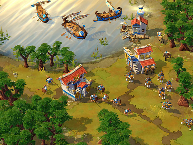 Fin Age of Empire Online