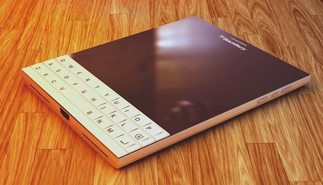 BlackBerry Passport blanc : image 2