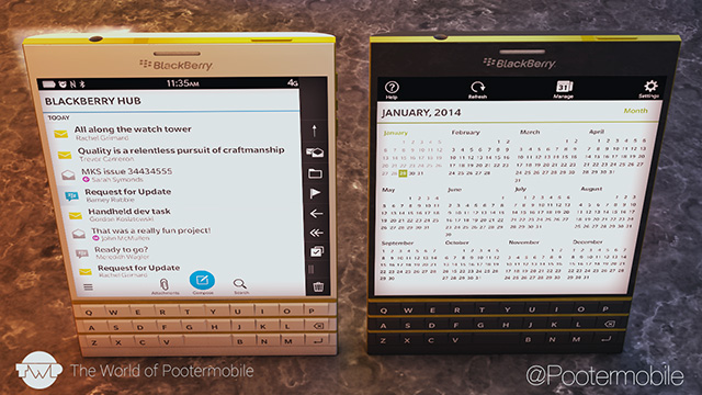 BlackBerry Passport rendu 1