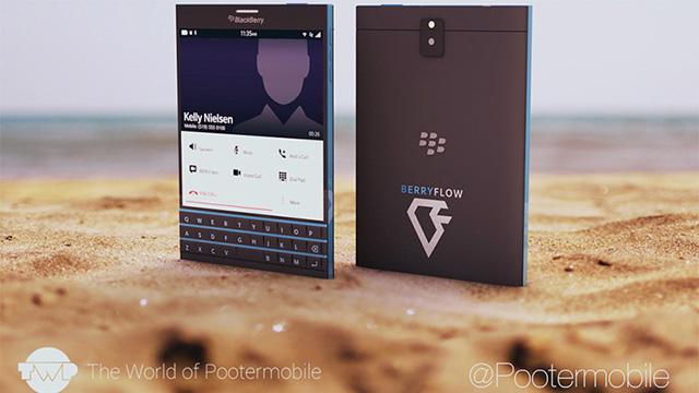 BlackBerry Passport rendu 2