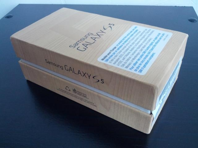 La boîte du Samsung Galaxy S5