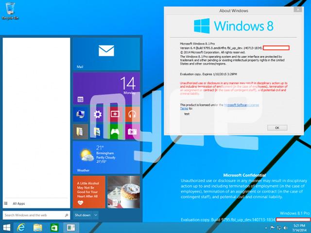 Capture menu démarrer Windows