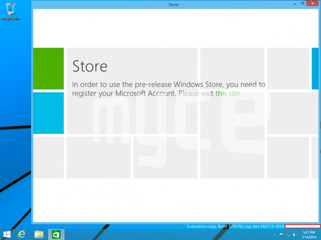 Capture Modern UI Windows