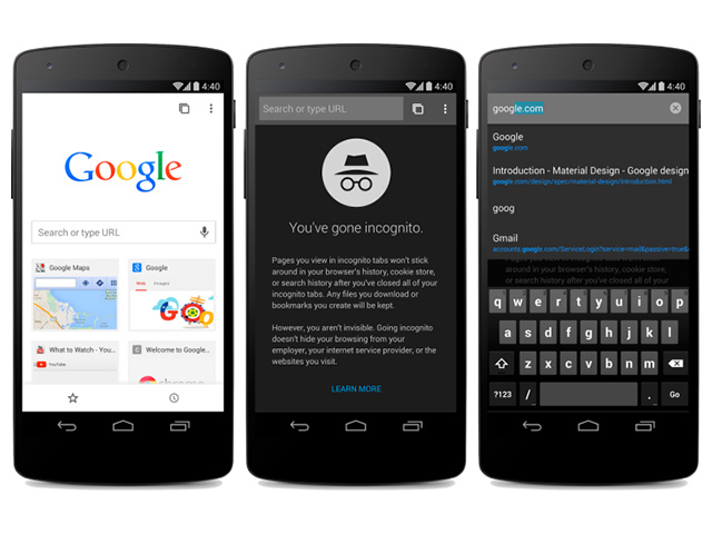 Chrome 37 Android