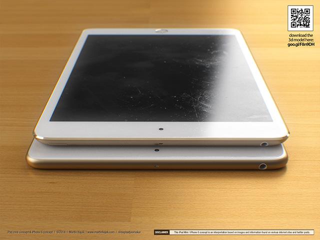 Concept iPad Mini : rendu 1