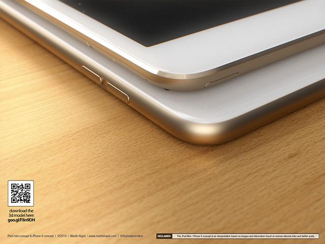 Concept iPad Mini : rendu 2